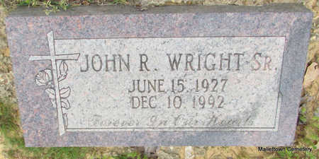 WRIGHT, JOHN R., SR. - Conway County, Arkansas | JOHN R., SR. WRIGHT - Arkansas Gravestone Photos