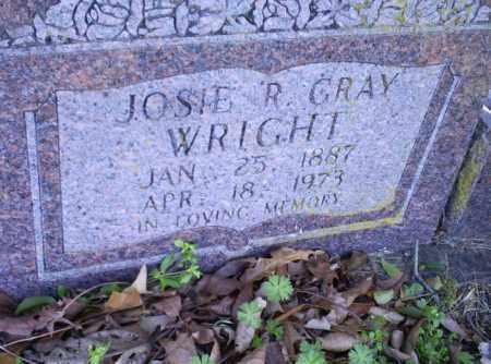 WRIGHT, JOSIE R - Conway County, Arkansas   JOSIE R WRIGHT - Arkansas Gravestone Photos