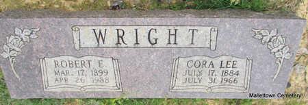 WRIGHT, CORA LEE - Conway County, Arkansas | CORA LEE WRIGHT - Arkansas Gravestone Photos