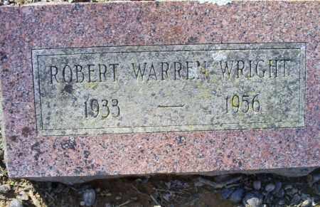 WRIGHT, ROBERT WARREN - Conway County, Arkansas   ROBERT WARREN WRIGHT - Arkansas Gravestone Photos