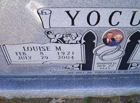 YOCUM, LOUISE M. - Conway County, Arkansas | LOUISE M. YOCUM - Arkansas Gravestone Photos