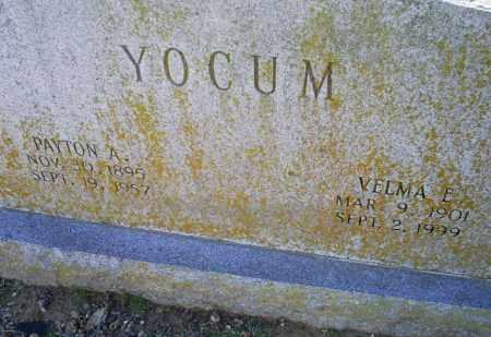 YOCUM, PAYTON A. - Conway County, Arkansas | PAYTON A. YOCUM - Arkansas Gravestone Photos