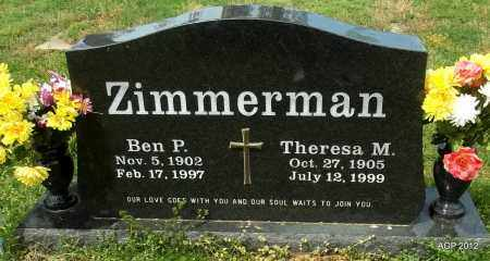 """ZIMMERMAN, THERESA M """"TRACY"""" - Conway County, Arkansas 