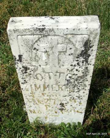 ZIMMERMAN, OTTO - Conway County, Arkansas | OTTO ZIMMERMAN - Arkansas Gravestone Photos