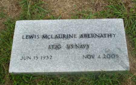 ABERNATHY (VETERAN), LEWIS MCLAURINE - Craighead County, Arkansas | LEWIS MCLAURINE ABERNATHY (VETERAN) - Arkansas Gravestone Photos