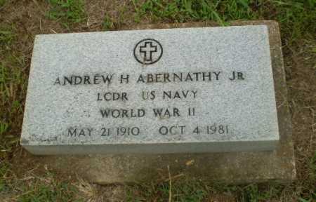 ABERNATHY, JR (VETERAN WWII), ANDREW H - Craighead County, Arkansas   ANDREW H ABERNATHY, JR (VETERAN WWII) - Arkansas Gravestone Photos