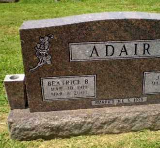 ADAIR, BEATRICE B - Craighead County, Arkansas | BEATRICE B ADAIR - Arkansas Gravestone Photos