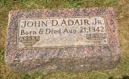 ADAIR, JOHN D - Craighead County, Arkansas | JOHN D ADAIR - Arkansas Gravestone Photos