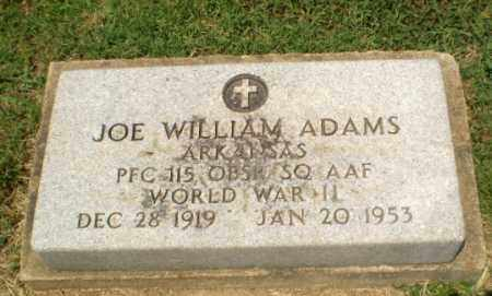 ADAMS  (VETERAN WWII), JOE WILLIAMS - Craighead County, Arkansas | JOE WILLIAMS ADAMS  (VETERAN WWII) - Arkansas Gravestone Photos