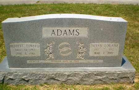 ADAMS, HERBERT EDWARD - Craighead County, Arkansas | HERBERT EDWARD ADAMS - Arkansas Gravestone Photos