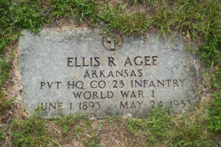 AGEE  (VETERAN WWI), ELLIS R - Craighead County, Arkansas | ELLIS R AGEE  (VETERAN WWI) - Arkansas Gravestone Photos