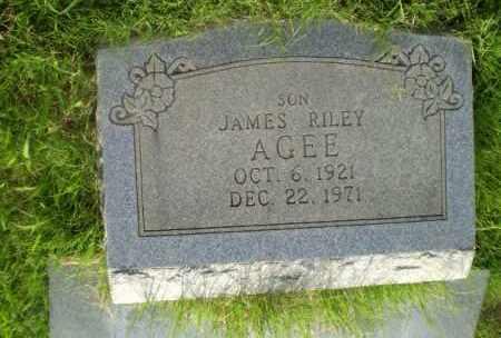 AGEE, JAMES RILEY - Craighead County, Arkansas   JAMES RILEY AGEE - Arkansas Gravestone Photos
