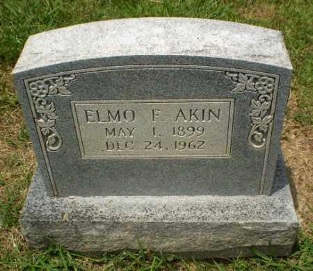 AKIN, ELMO F - Craighead County, Arkansas | ELMO F AKIN - Arkansas Gravestone Photos