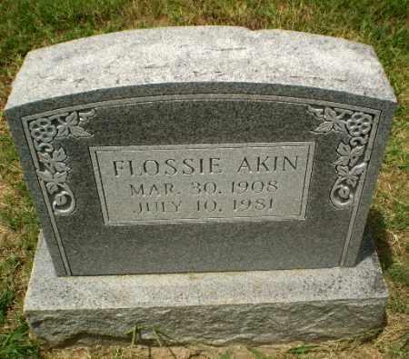 AKIN, FLOSSIE - Craighead County, Arkansas | FLOSSIE AKIN - Arkansas Gravestone Photos