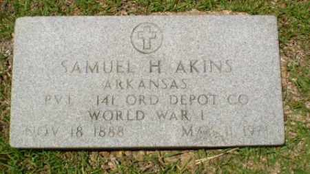 AKINS (VETERAN WWI), SAMUEL - Craighead County, Arkansas | SAMUEL AKINS (VETERAN WWI) - Arkansas Gravestone Photos