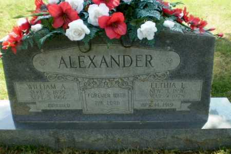 ALEXANDER, WILLIAM A - Craighead County, Arkansas | WILLIAM A ALEXANDER - Arkansas Gravestone Photos