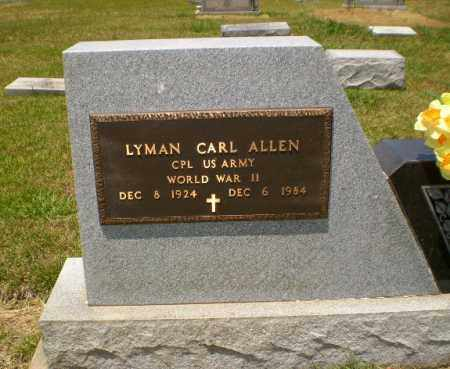 ALLEN  (VETERAN WWII), LYMAN CARL - Craighead County, Arkansas   LYMAN CARL ALLEN  (VETERAN WWII) - Arkansas Gravestone Photos