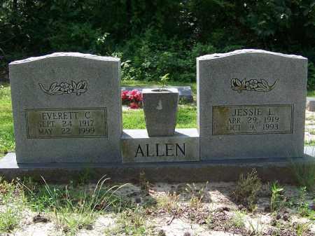 ALLEN, EVERETT C. - Craighead County, Arkansas | EVERETT C. ALLEN - Arkansas Gravestone Photos