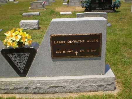 ALLEN, LARRY DEWAYNE - Craighead County, Arkansas   LARRY DEWAYNE ALLEN - Arkansas Gravestone Photos