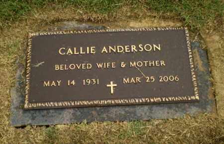 ANDERSON, CALLIE - Craighead County, Arkansas   CALLIE ANDERSON - Arkansas Gravestone Photos