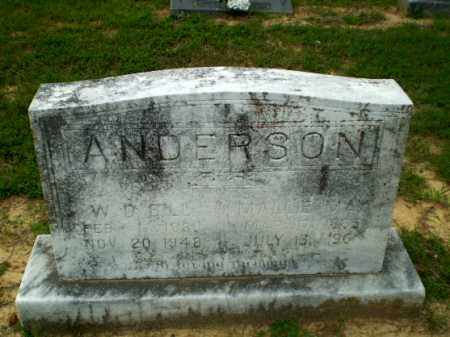ANDERSON, MALLIE MAY - Craighead County, Arkansas | MALLIE MAY ANDERSON - Arkansas Gravestone Photos