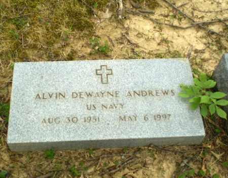 ANDREWS  (VETERAN), ALVIN DEWAYNE - Craighead County, Arkansas   ALVIN DEWAYNE ANDREWS  (VETERAN) - Arkansas Gravestone Photos