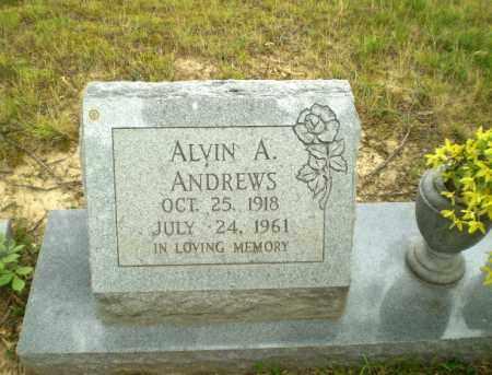 ANDREWS (VETERAN WWII), ALVIN A - Craighead County, Arkansas | ALVIN A ANDREWS (VETERAN WWII) - Arkansas Gravestone Photos