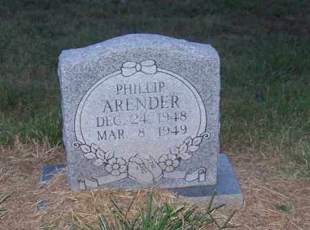 ARENDER, PHILLIP - Craighead County, Arkansas | PHILLIP ARENDER - Arkansas Gravestone Photos