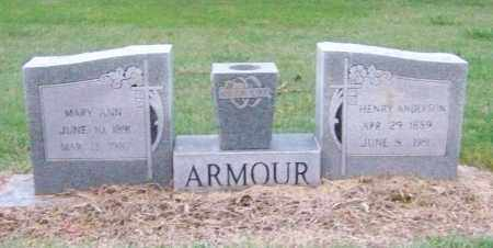 ARMOUR, MARY ANN - Craighead County, Arkansas | MARY ANN ARMOUR - Arkansas Gravestone Photos