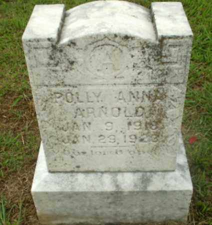 ARNOLD, POLLY ANNA - Craighead County, Arkansas | POLLY ANNA ARNOLD - Arkansas Gravestone Photos