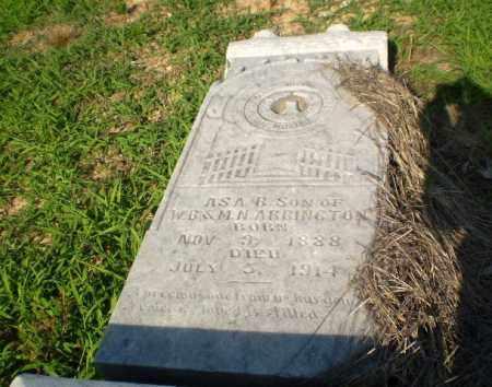 ARRINGTON, ASA B - Craighead County, Arkansas | ASA B ARRINGTON - Arkansas Gravestone Photos