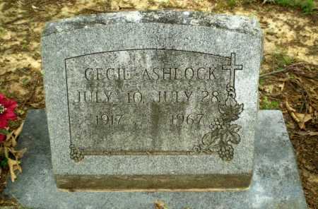 ASHLOCK, CECIL - Craighead County, Arkansas | CECIL ASHLOCK - Arkansas Gravestone Photos