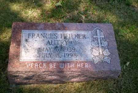 HEILKER AUTRY, FRANCES - Craighead County, Arkansas | FRANCES HEILKER AUTRY - Arkansas Gravestone Photos