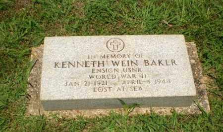 BAKER  (VETERAN WWII, KIA), KENNETH WEIN - Craighead County, Arkansas | KENNETH WEIN BAKER  (VETERAN WWII, KIA) - Arkansas Gravestone Photos