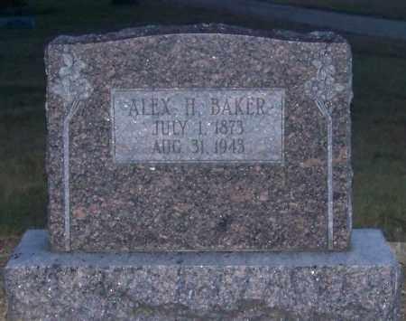 BAKER, ALEX H. - Craighead County, Arkansas | ALEX H. BAKER - Arkansas Gravestone Photos