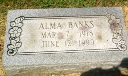 BANKS, ALMA - Craighead County, Arkansas | ALMA BANKS - Arkansas Gravestone Photos