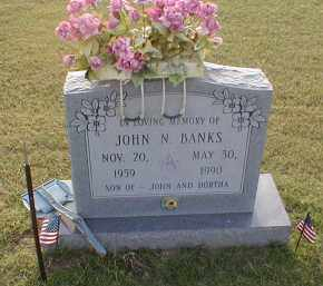 BANKS, JOHN N. - Craighead County, Arkansas | JOHN N. BANKS - Arkansas Gravestone Photos