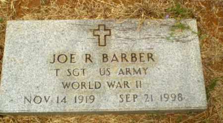 BARBER  (VETERAN WWII), JOE R - Craighead County, Arkansas   JOE R BARBER  (VETERAN WWII) - Arkansas Gravestone Photos