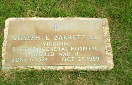 BARRETT, JR (VETERAN WWII), JOSEPH E - Craighead County, Arkansas   JOSEPH E BARRETT, JR (VETERAN WWII) - Arkansas Gravestone Photos