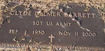 BARRETT (VETERAN), CLYDE DELMER - Craighead County, Arkansas | CLYDE DELMER BARRETT (VETERAN) - Arkansas Gravestone Photos
