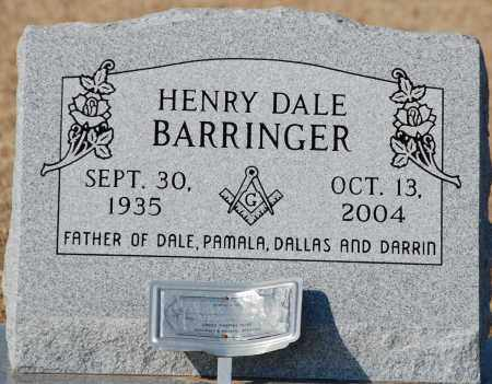 BARRINGER, HENRY DALE - Craighead County, Arkansas | HENRY DALE BARRINGER - Arkansas Gravestone Photos