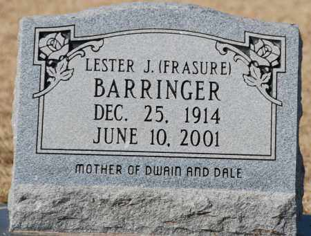 FRASURE BARRINGER, LESTER J - Craighead County, Arkansas | LESTER J FRASURE BARRINGER - Arkansas Gravestone Photos