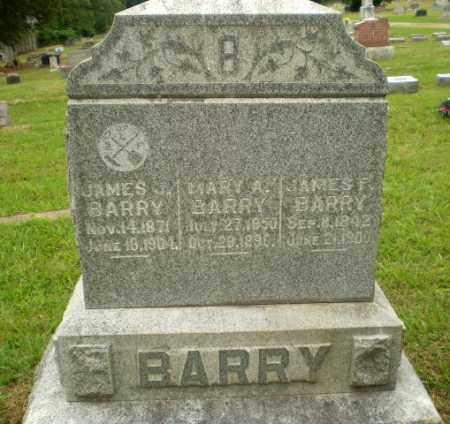 BARRY, JAMES F - Craighead County, Arkansas | JAMES F BARRY - Arkansas Gravestone Photos