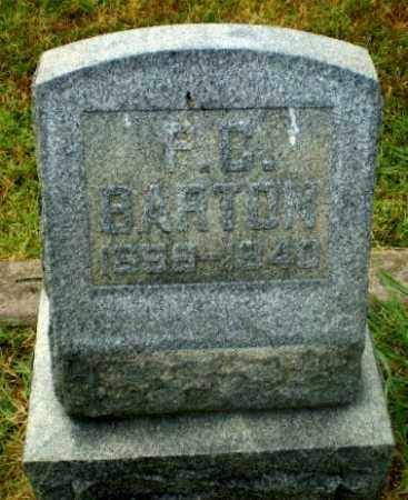 BARTON, P.C. - Craighead County, Arkansas   P.C. BARTON - Arkansas Gravestone Photos