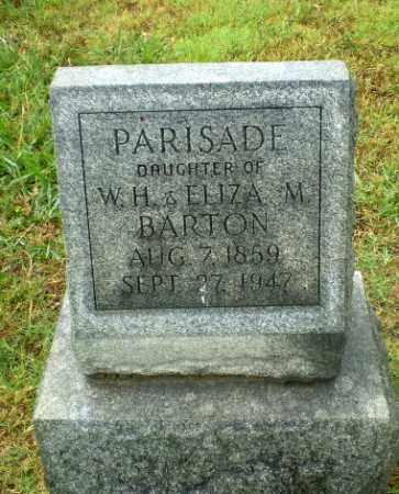 BARTON, PARISADE - Craighead County, Arkansas | PARISADE BARTON - Arkansas Gravestone Photos