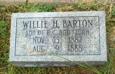 BARTON, WLLIE H - Craighead County, Arkansas   WLLIE H BARTON - Arkansas Gravestone Photos