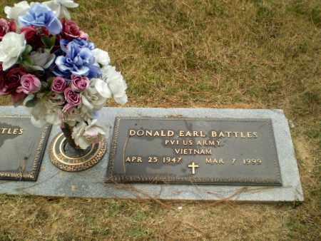 BATTLES  (VETERAN VIET), DONALD EARL - Craighead County, Arkansas   DONALD EARL BATTLES  (VETERAN VIET) - Arkansas Gravestone Photos