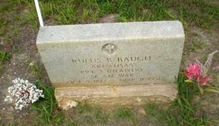 BAUGH (VETERAN SAW), RUFUS B - Craighead County, Arkansas | RUFUS B BAUGH (VETERAN SAW) - Arkansas Gravestone Photos