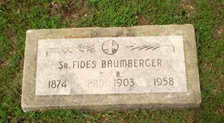 BAUMBERGER, SISTER FIDES - Craighead County, Arkansas | SISTER FIDES BAUMBERGER - Arkansas Gravestone Photos