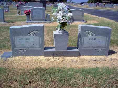 BAXLEY, ARTHER E - Craighead County, Arkansas | ARTHER E BAXLEY - Arkansas Gravestone Photos